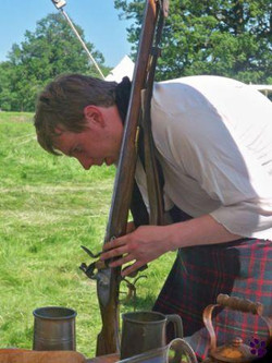 Musket cleaning