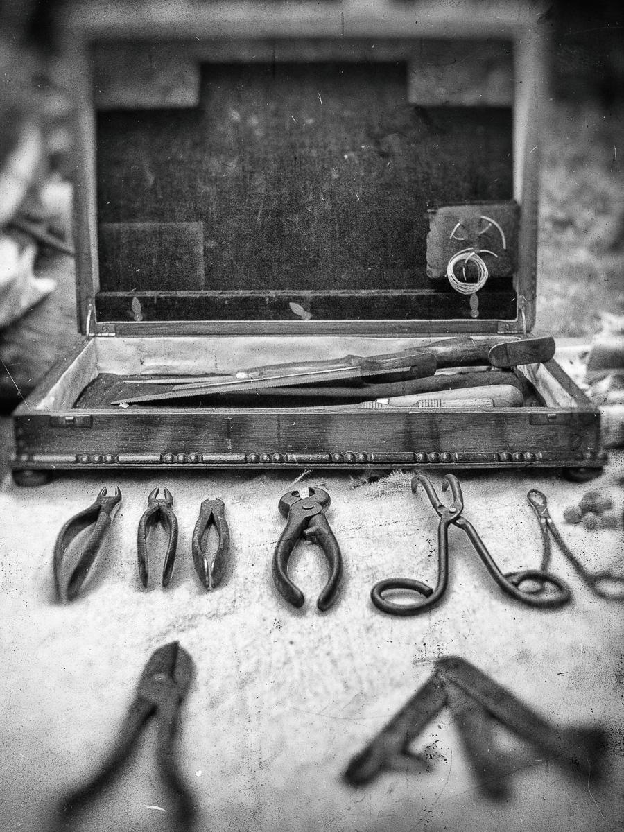 Surgeons instruments