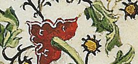 Medieval margin painting