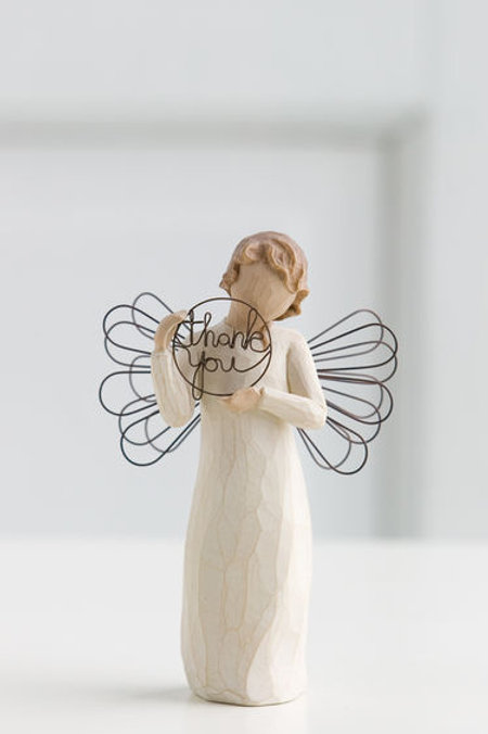 Willow Tree Just For You Angel Sincere Thanks Figurine by Susan Lordi