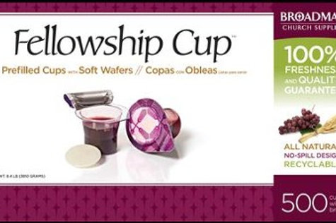 Fellowship Cup Prefilled Communion Cups Box of 500