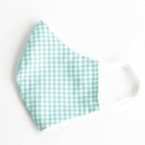 Kids Face Mask Gingham | Select Color