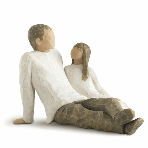 Willow Tree Father & Daughter Figurine by Susan Lordi