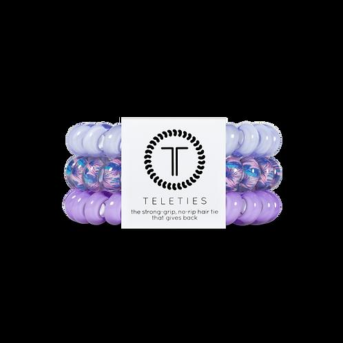 Large Teleties Purple Please Pack of 3