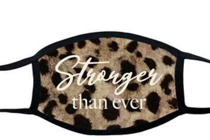 Face Mask Stronger Than Ever Leopard