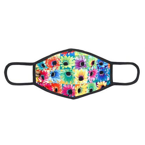 Face Mask Multicolor Daisies