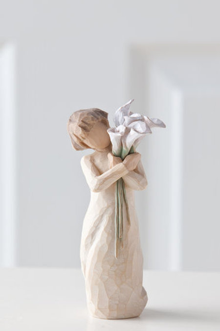 Willow Tree Beautiful Wishes Floral Figurine by Susan Lordi