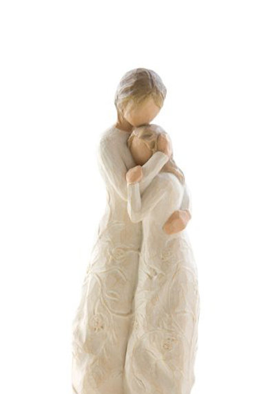 Willow Tree Close To Me Mother and Daughter Love Figurine by Susan Lordi