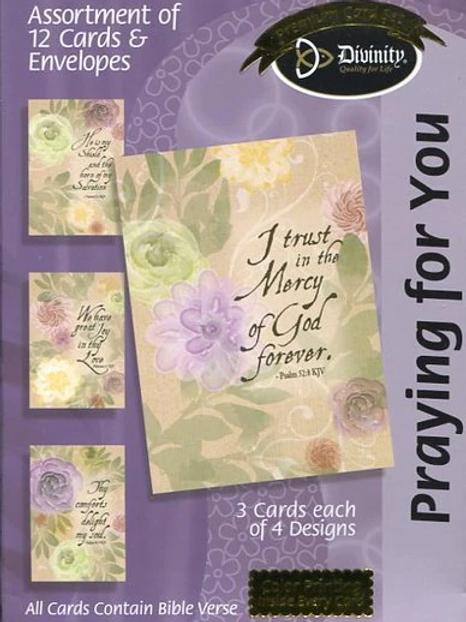 Praying For You Cards, KJV, Box of 12