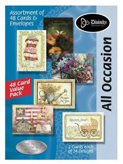 All Occasion Cards, KJV, Box of 48