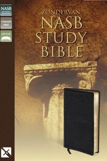 NASB Zondervan Study Bible, Black Bonded leather