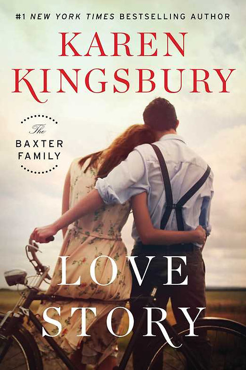 Love Story Karen Kingsbury Hardback Book Christian Fiction