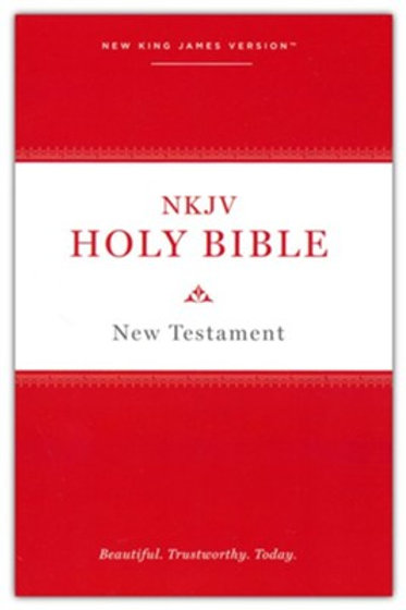 NKJV Holy Bible New Testament--softcover