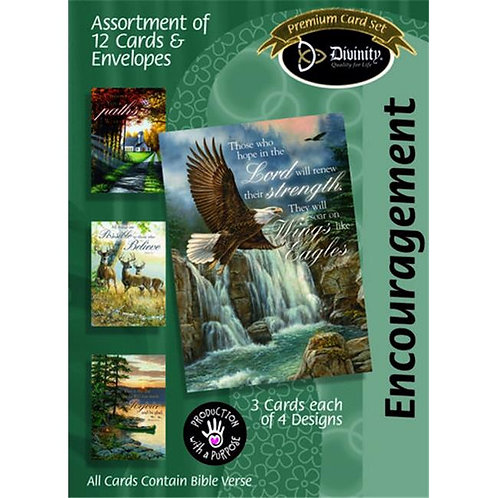 Encouragement Cards, Nature, Box of 12