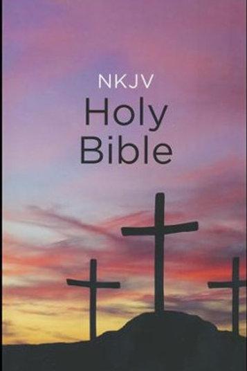 NKJV, Value Outreach Bible, Paperback, Classic