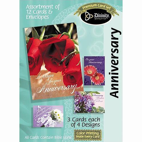 Anniversary, Flowers, Box of 12