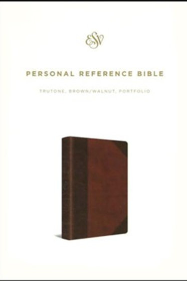 ESV Ref. Bible (TruTone, Brown/Walnut, Portfolio Design), Imitation Leather