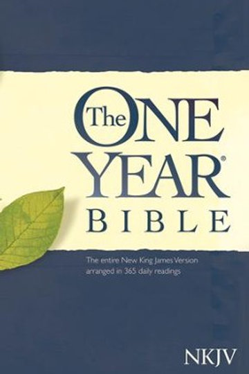 The NKJV One Year Bible, Softcover