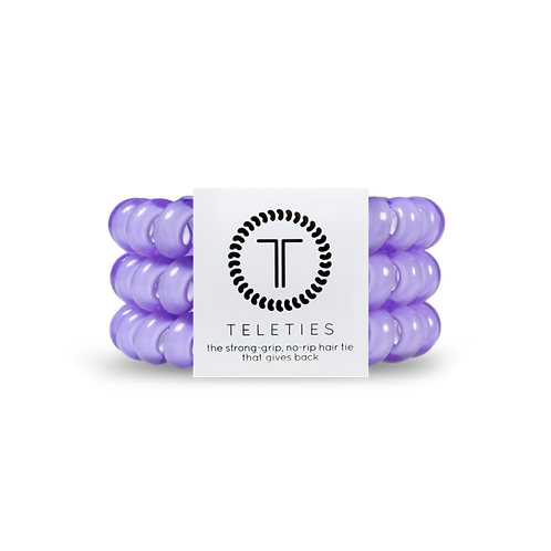 Large Teleties Lilac Pack of 3