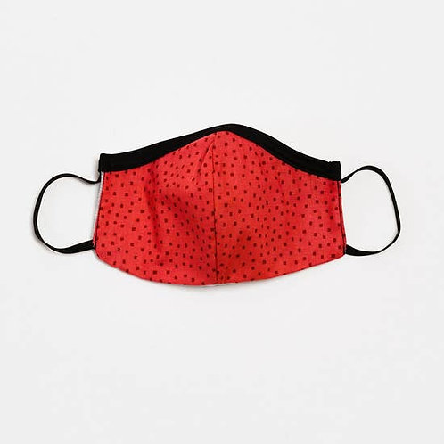Kids Face Mask Strawberry Red