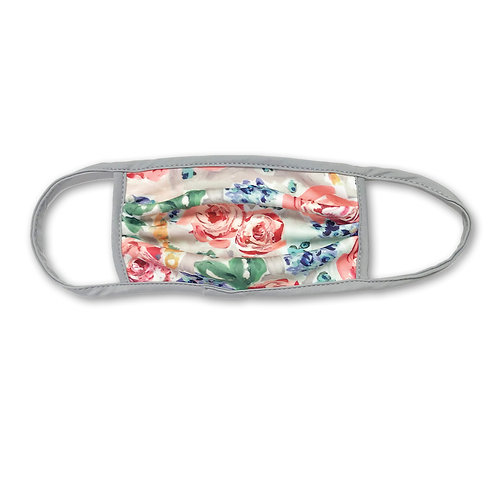 Face Mask Watercolor Floral
