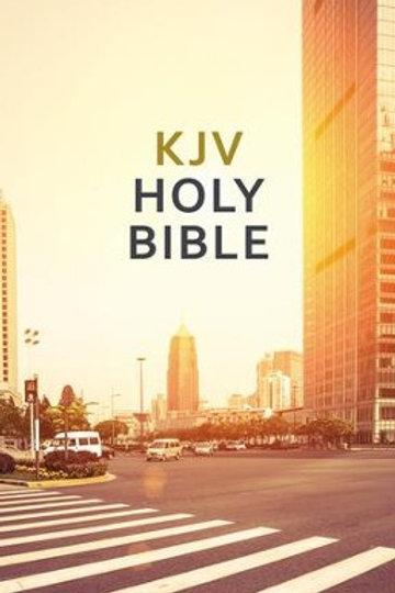 KJV, Value Outreach Bible, Paperback, Urban Scenic