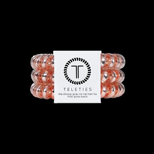Large Teleties Millenial Pink Pack of 3
