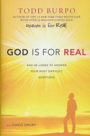 God is For Real David Drury Hardback Book