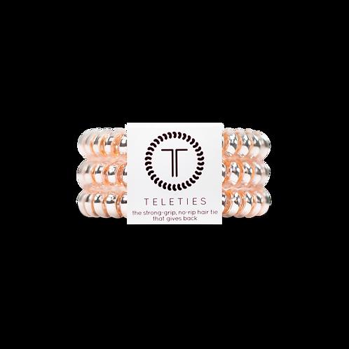 Small Teleties Millenial Pink Pack of 3