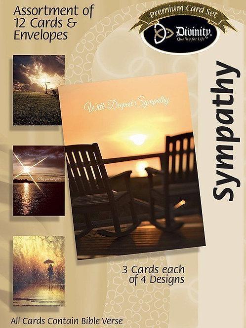 Sympathy Cards, KJV, Box of 12