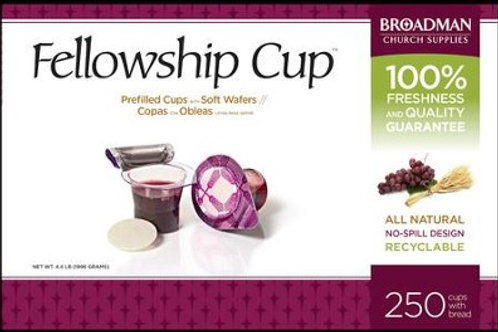 Fellowship Cup Prefilled Communion Cups Box of 250