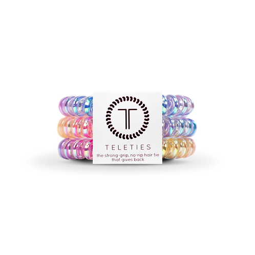 Small Teleties Eat Glitter For Breakfast Pack of 3