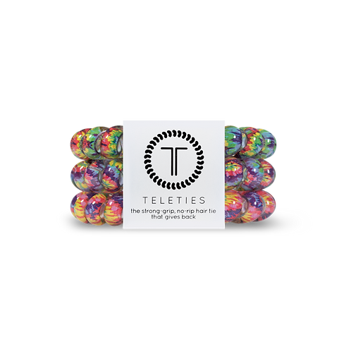 Large Teleties Psychedelic Pack of 3
