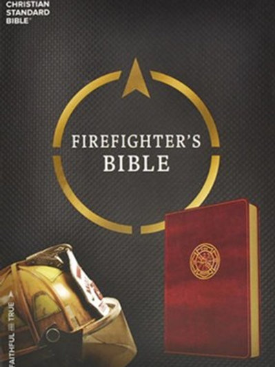 CSB Firefighter's Bible, Burgundy LeatherTouch