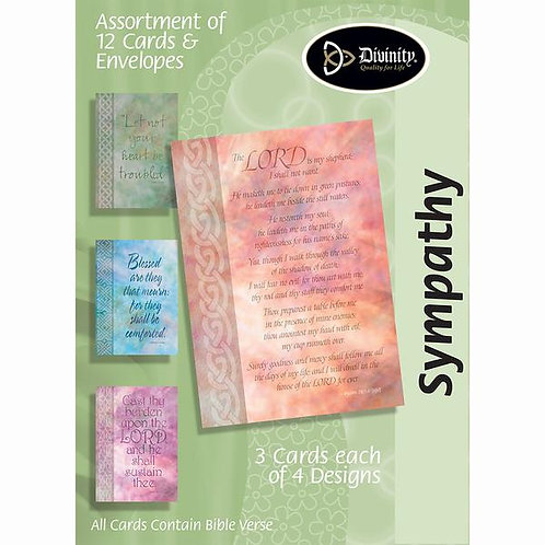 Sympathy, Verses, Box of 12