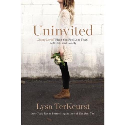 Uninvited Lysa TerKeurst Paperback