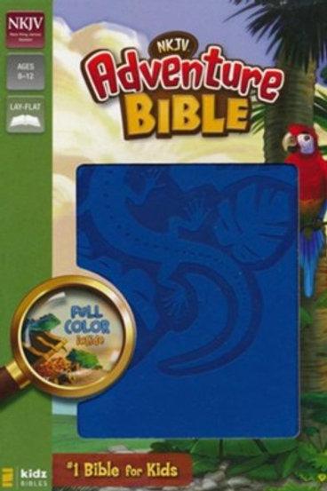 NKJV Adventure Bible, Ocean Blue