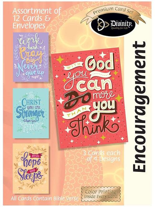 Encouragement, Trendy Words, Box of 12