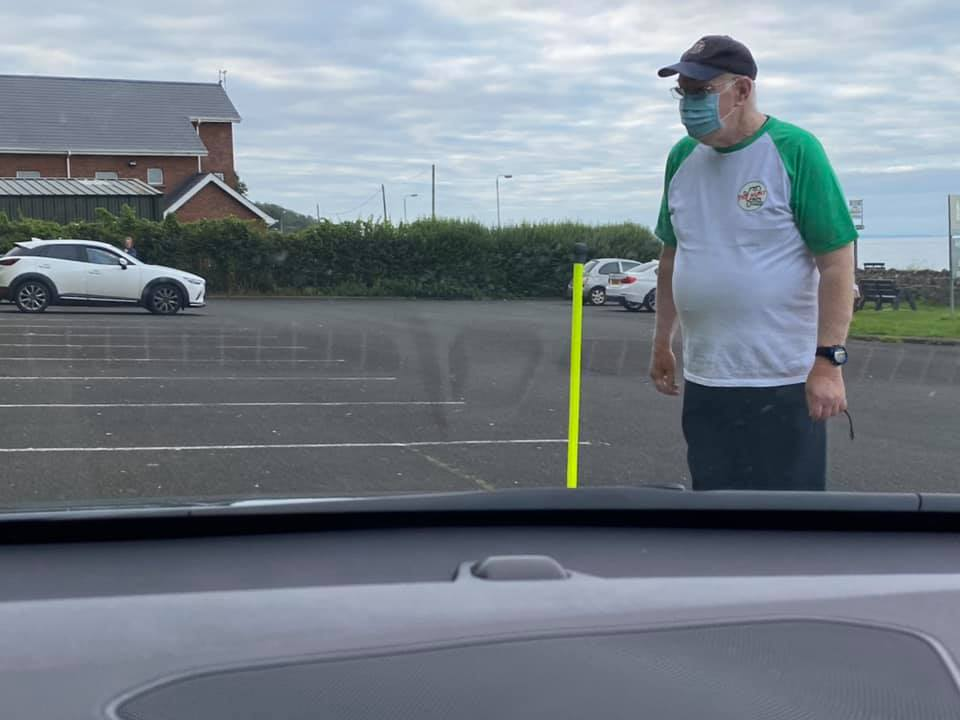 The distance driving test