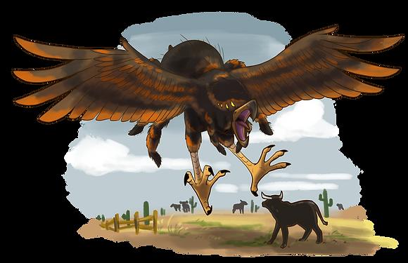 Tarantula Hawk Print
