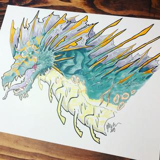 #2 - Battle-Scarred Sea Dragon