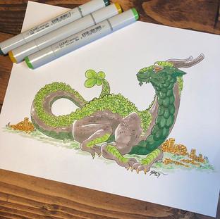 #19 - St. Patricks Dragon