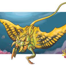Mantis Ray Star Fruit Mash