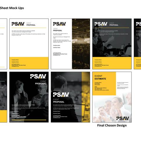 PSAV Proposal Page Drafts