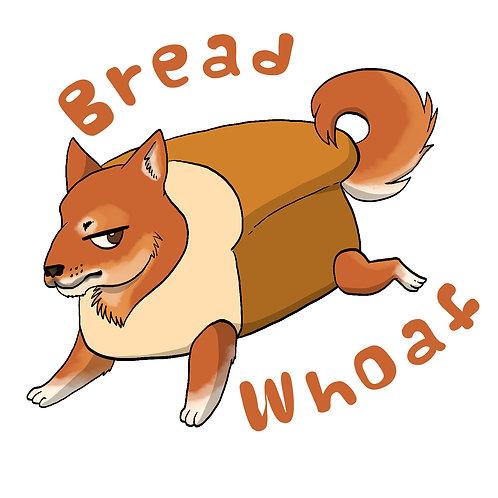 Bread Whoaf Koda Sticker