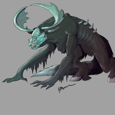 Deep Mountain Wendigo