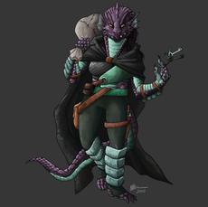 Dragonborn Rogue