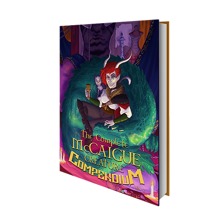 The Complete McCaigue Creature Compendium