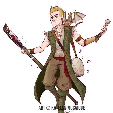 YouTubers as RPG Characters - Jazza