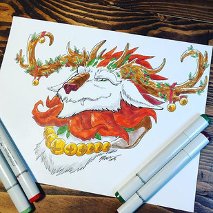 #11 - Christmas Dragon
